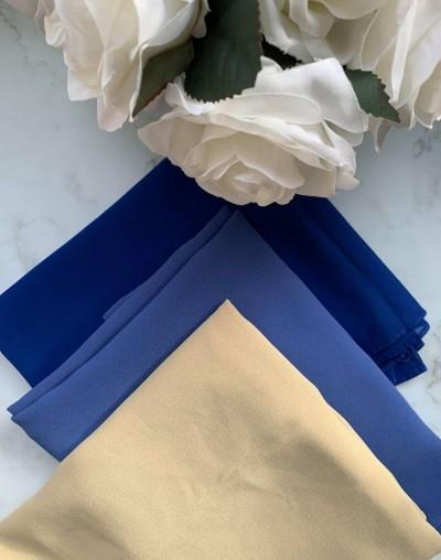 Hijabs bleu