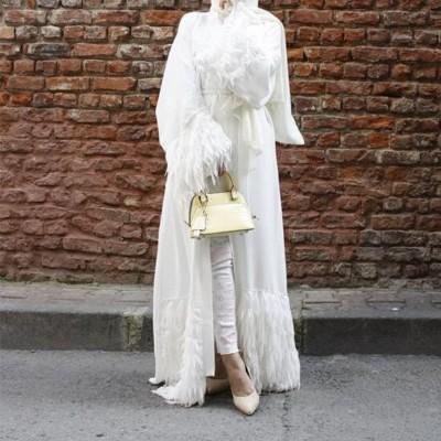 abaya blanche