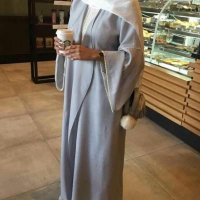 abaya en lin